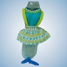 Mattel 1970 Skipper Outfit, Rik Rak Rah, Variation Fabric