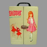 Vintage Skipper Vinyl Carrying Case, 1964, Mattel Lic.
