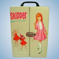 Vintage Skipper Vinyl Carrying Case, 1964, Mattel Lic.