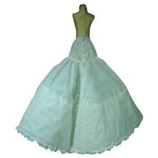 VIntage 1970's Madame Alexander Full Length Petticoat, Cissy Size