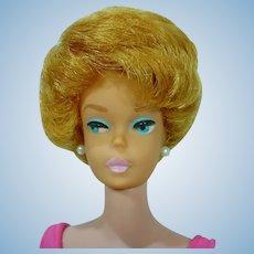 Beautiful Pink Lipped Barbie Bubble Cut, 1962
