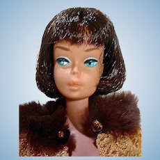 Vintage 1965 Brunette American Girl in Golden Glory