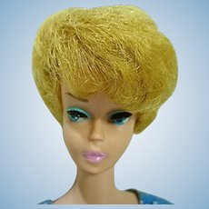 Vintage Mattel  Blond Barbie Bubble Cut in Let's Dance, 1962