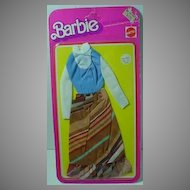Never Removed from Card Mattel Barbie Best Buy Fashion from 1977.
