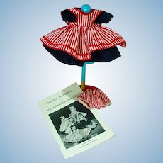 """Madame Alexander Outfit, """"Wendy Helps Mummy"""" 1955"""