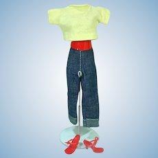 "Vintage Vogue 10 1/2"" Jill Outfit, #3215, 1959"