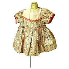 Vintage 1950's Doll Dress, Charming