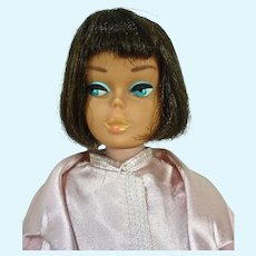 Mattel Brunette American Girl Barbie, 1965 in Slumber Party