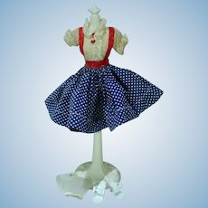 "Vintage 10 1/2"" Miss Nancy Ann Fashion Doll Outfit, 1958"