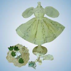 Vintage Vogue Jill Garden Dress Outfit, #7516, 1957