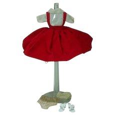 "VIntage Cosmopolitan 10 1/2"" Miss Ginger Outfit, 1958"