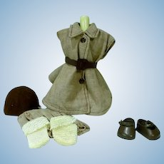 Vintage Vogue Ginny Brownie Outfit, #7132, 1958