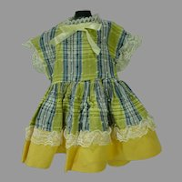 Charming 1950's Doll Dress