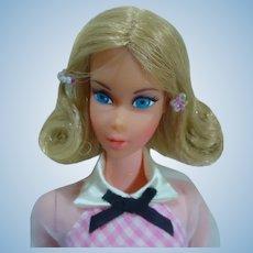 Mint 1973 Mattel Quick Curl Barbie with Accessories