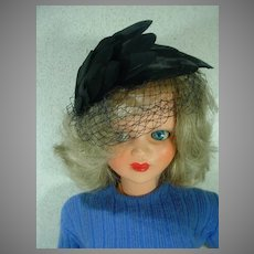 """25"""" Sonia, Italian Ottolini Fashion Doll, Late 1950's, Rare"""
