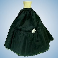Vintage Full Length Madame Alexander Black Petticoat for Cissy