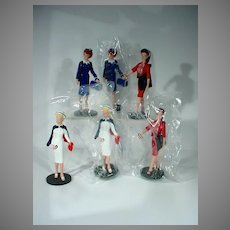 1993 Barbie Doll Enesco Figures