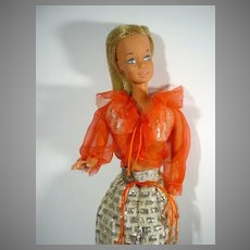 Vintage Mattel Malibu Barbie in Fun Shine, 1972