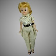 VIntage Vogue Jill Doll in RIding Outfit, 1958