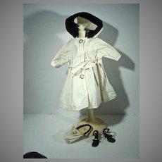 VIntage Vogue Jill Rain Coat Ensemble, 1957