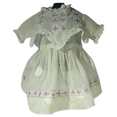 Charming VIntage Doll Dress, 1960's