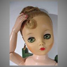 "Sexy Undeeda 19"" Dollikin in Vintage Lingerie, 1950's"