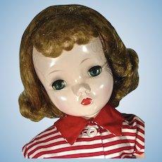"Madame Alexander 18"" Binnie Walker in Rare Outfit, 1950's"