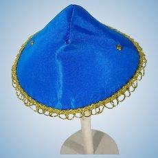Mint Madame Alexander-kin Rayon Taffeta Hat, 1956