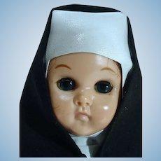Vintage Vogue Ginny Nun Doll, 1958