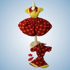 "1950's 4- Piece Set for 10 1/2"" Fashion Doll, Little Miss Revlon, Jill"