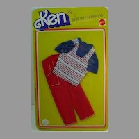 Never Removed from Card Mattel Ken Best Buy Fashion from 1977.