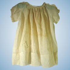 1920's Cotton Voile Doll Dress
