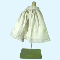 Antique Dolls Cotton Under Slip, 1900's