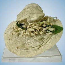 Vintage 1920's Doll Hat
