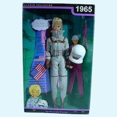 NRFB Mattel Barbie Collector Series Blond American Girl Miss Astronaut, 1965 Repro