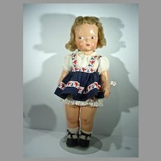 Rare, 1940's Composition Terri Lee Doll with Mannequin Wig