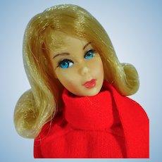 Mattel Blond Flip 1970 TNT Barbie in Super Scarf