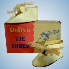 VIntage MIB Doll Shoes, 1950's