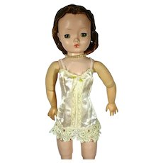 Vintage Madame Alexander Cissy Doll in Corset & Dressing Gown, 1957