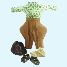 Vintage Vogue Ginny Gym Kids Outfit, #6031, 1956