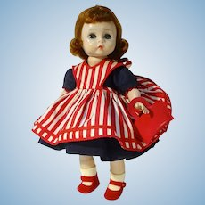 "Vintage Madame Alexander ""Wendy Helps Mummy"" 8"" Doll, 1955"