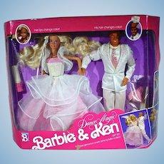 NRFB Mattel Dance Magic Barbie & Ken Gift Set, 1990