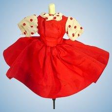 Madame Alexander Cissette Red Dress, 1957