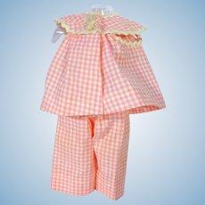 Vintage Madame Alexander Wendy Cotton Pajamas, 1955
