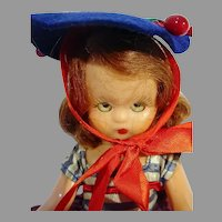 Charming Nancy Ann Storybook Doll, 1950's