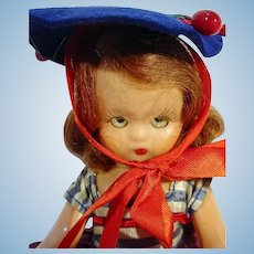 Charming Nancy Ann Storybook Doll, 1950's