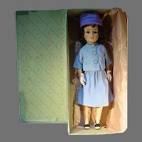 """Madame Alexander 21"""" Jacqueline Doll in Blue Suit, 1962 w/Box"""