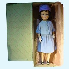 "Madame Alexander 21"" Jacqueline Doll in Blue Suit, 1962 w/Box"
