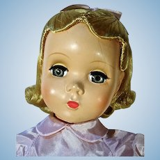 Mint Madame Alexander Alice In Wonderland, 18 Inches, 1951