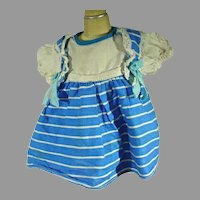 Charming 1950's Cotton Doll Dress